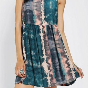 Urban Outfitters Ecote tie die dress